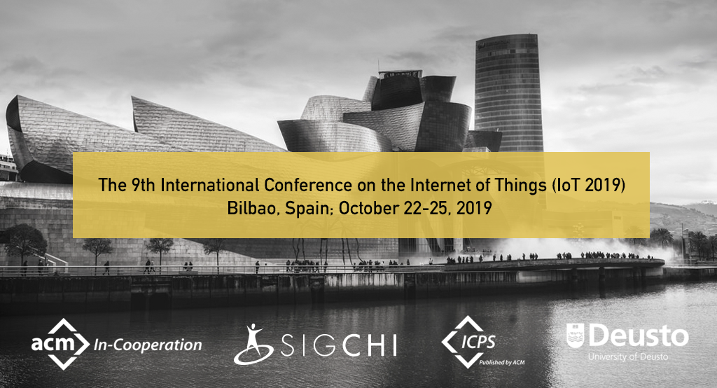 9th International Conference on the Internet of Things (IoT 2019)